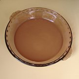 "USA PYREX 9-1/2"" FLUTED PIE PAN, AMETHYST in Naperville, Illinois"