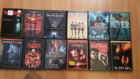 thriller movies -mix action movies lot in Ramstein, Germany