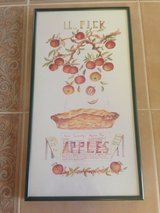 Reduced: Framed Apple Picture in Joliet, Illinois