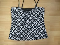Black and White Top w/Adjustable Straps in Ramstein, Germany