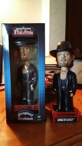 2 Undertaker Bobble Heads in Tacoma, Washington