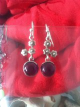 Ameythist  earrings FEB BIRTH STONE in Hampton, Virginia