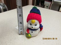 "Snowman ""Bell"" Ornament in Houston, Texas"