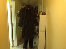 All weather black trench coats in Fort Knox, Kentucky