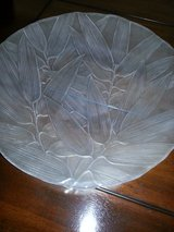 MIKASA ETCHED LEAF PLATTER in Yucca Valley, California