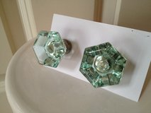 (2) Pale Green Knobs in Naperville, Illinois