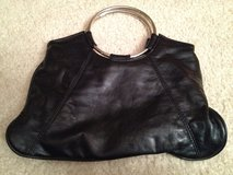 "BLACK 12""W Faux Leather Clutch Purse in Lockport, Illinois"