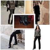 Woman Black Ankle Boots in El Paso, Texas