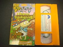 Rugrats Thanksgiving VHS in Houston, Texas