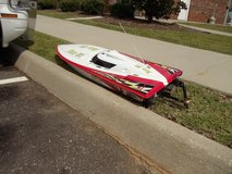 RACING SPEED BOAT; RADIO CONTROLLED; GAS OPERATED. in Fort Rucker, Alabama
