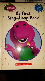Barney - My First Sing-Along Book by Scholastic in Fort Lewis, Washington
