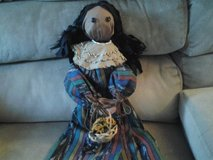 Indian Doll Handmade New! Made by Crafter in Plainfield, Illinois