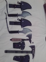 Survival Knives, Tactical Axes & Tomahawks, Pocket Knives, Daggers, Swords, etc... in Joliet, Illinois