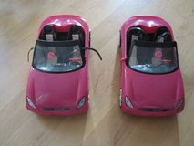Barbie Doll Convertible Toy Cars - Have 1 left in Plainfield, Illinois