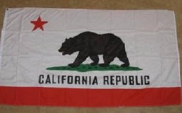 DETTRA 5' x 8' California State Flag in 29 Palms, California