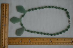 Green 100% Natural A JADE Jadeite Bead beads Necklace in Naperville, Illinois