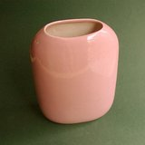 DUSTY PINK/MAUVE ART POTTERY VASE -  DI CARLO in St. Charles, Illinois