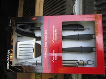 BRINKMANN 4 PIECE BBQ SET in Naperville, Illinois
