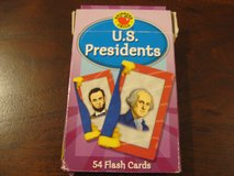 US Presidents Flash Cards in Naperville, Illinois