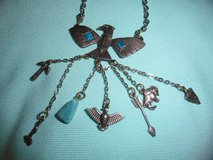 Thunderbird Turquoise necklace in Eglin AFB, Florida