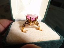 6 Carat Pink Sapphire Ring in Eglin AFB, Florida