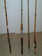 1 Vintage Flyrod  - 2 NICE Poles   CASH  or TRADE in Quantico, Virginia
