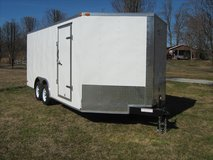 NEW! 8-1/2' X 24' Enclosed Trailer - V nose - Rear Ramp in Fort Knox, Kentucky