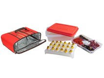 Rachael Ray Foodtastic Party Box With Universal Thermal: Red in Tacoma, Washington