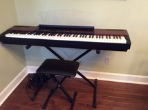 Yamaha P120 88 key Stage Piano with Speakers (stand and seat included) in Warner Robins, Georgia