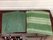 Green Cotton Placemats - 2 sets of 4 in Westmont, Illinois