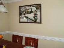 """Framed Oil painting 36X24 """"Roscoe village, OH"""" in Todd County, Kentucky"""