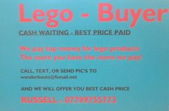 LEGO WANTED in Lakenheath, UK
