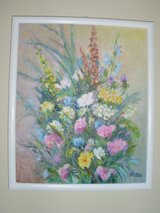 """Original painting """"Bouquet"""" by Polish Warsaw artist N.Pelka in Todd County, Kentucky"""