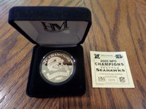*** Seattle Seahawks 2005 NFC Champion Highland Mint Numbered Gold Coin *** NEW in Tacoma, Washington
