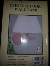 Wall mount lamp in Fort Riley, Kansas