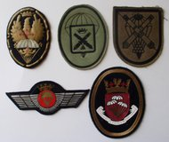 Spain Royal Airborne Patches in Fort Campbell, Kentucky