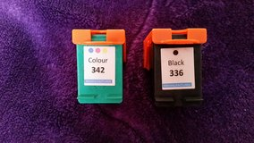 HP 336 Black 342 Colour Reman Ink Cartridge Photosmart in Lakenheath, UK