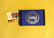 "*** SEATTLE SEAHAWKS ""OLD SCHOOL"" TRI-FOLD NYLON WALLET (NEW) *** in Tacoma, Washington"