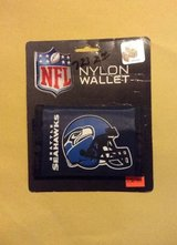 *** SEATTLE SEAHAWKS TRI-FOLD NYLON WALLET (NEW) *** in Tacoma, Washington
