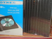 "DVD   ""CASES"" (10 PK) in Tinley Park, Illinois"