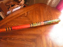 "Hand Painted and Carved Pinata Bat/Stick- Mexican/Aztec/Mayan 31"" in Hopkinsville, Kentucky"