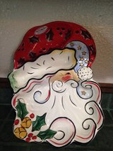 Vintage SANTA chip and dip ceramic bowl in Fort Lewis, Washington
