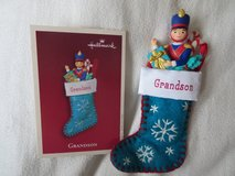 Hallmark Keepsake Grandson Christmas Ornament in Ramstein, Germany