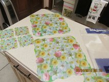 NIP - Welcome Spring With This Floral Placemat & Coaster 8-Piece Set in Kingwood, Texas