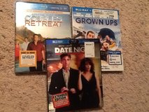 3 - Blu-Ray Comedy Movies in Camp Lejeune, North Carolina