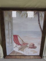 Beach Chair Framed Pictures in Palatine, Illinois