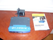 Linksys Cable/DSL Router with Switch in Plainfield, Illinois