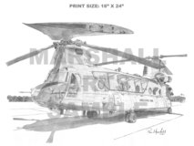 Chinook F Model - Helicopter - Aviation - CH-47F in Fort Rucker, Alabama