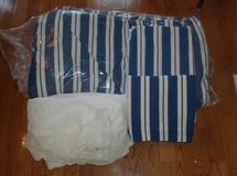 4 Piece Comforter Set - FULL SIZE BED in Naperville, Illinois