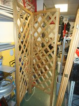 6' 2 section Wooden Room divider/ display in Chicago, Illinois